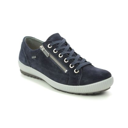Legero Comfort Lacing Shoes - Navy suede - 00616/83 TANARO ZIP GTX