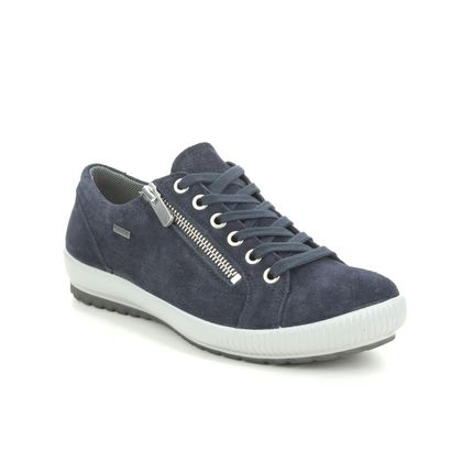 Legero Comfort Lacing Shoes - Navy suede - 00616/83 TANARO ZIP GTX