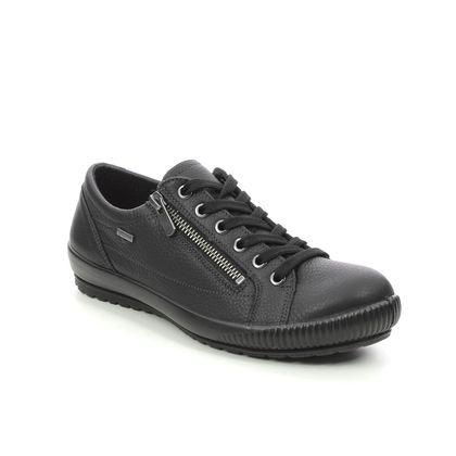 Legero Comfort Lacing Shoes - Black leather - 2000616/0100 TANARO ZIP GTX