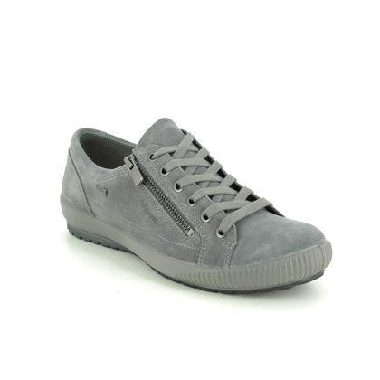 Legero Comfort Lacing Shoes - Grey-suede - 2000616/2200 TANARO ZIP GTX