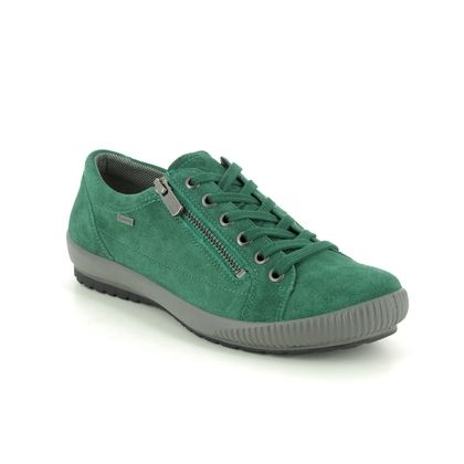 Legero Comfort Lacing Shoes - Green Suede - 2000616/7300 TANARO ZIP GTX