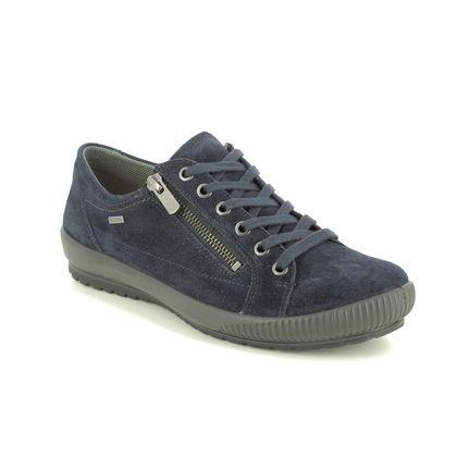 Legero Comfort Lacing Shoes - Navy Suede - 2000616/8000 TANARO ZIP GTX
