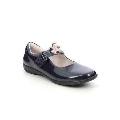 Lelli Kelly Girls Shoes - Navy patent - LK8100/DE01 BLISS UNICORN F FIT