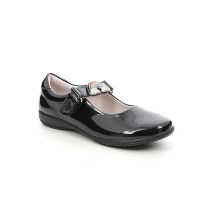 Lelli Kelly Girls Shoes - Black patent - LK8104/DB01 BRITE RAINBOW F FIT