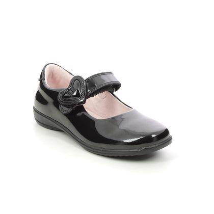 Lelli Kelly Girls Shoes - Black patent - LK8500/DB01 COLOURISSIMA HEART