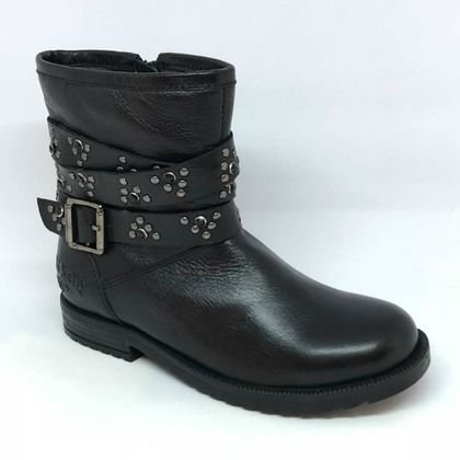 Lelli Kelly Girls Boots - Black leather - LK3610/CB01 ELENA