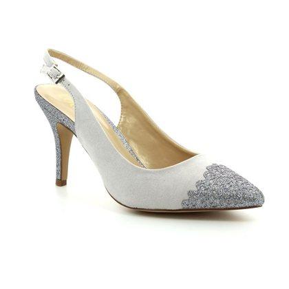 Lotus Heeled Shoes - Grey - 50796/00 ARLIND