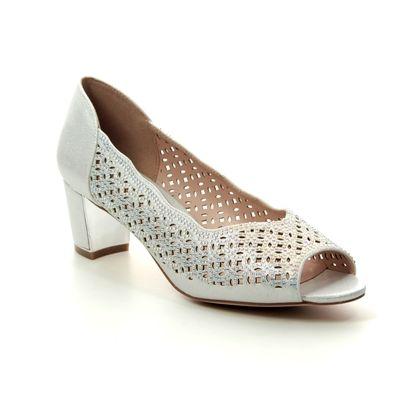 Lotus Court Shoes - Silver - ULS034/01 ATTICA