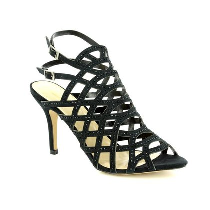 Lotus Heeled Sandals - Black - 50885/30 CAZADORA