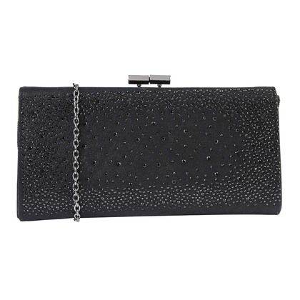 Lotus Occasion Handbags - Black Glitz - ULG014/30 CHANDRA ORLA