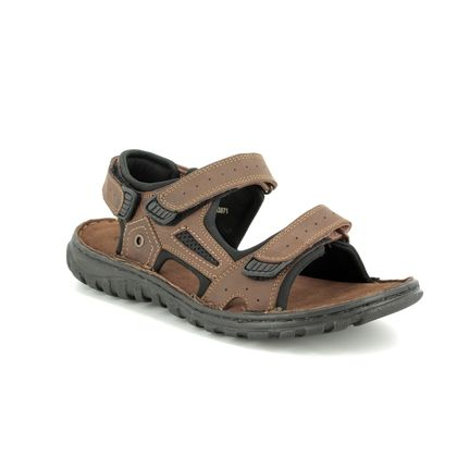 Lotus Sandals - Brown - UMP001/20 DOUGLAS