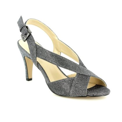 Lotus Heeled Sandals - Pewter glitz - 50884/51 ENDIVE