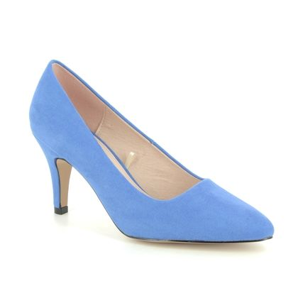 Lotus Heeled Shoes - Denim blue - ULS055/71 HOLLY
