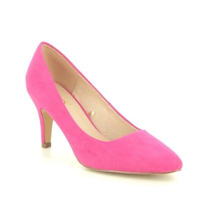 Lotus Heeled Shoes - Fuchsia - ULS055/62 HOLLY