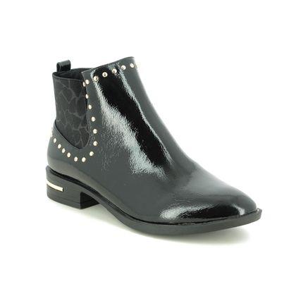 Lotus Chelsea Boots - Black patent - ULB143/40 LOLITA