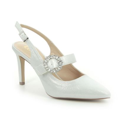 Lotus Slingback Shoes - Off White - ULS177/67 MISHKA