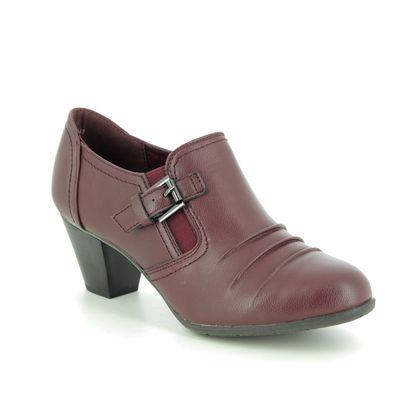 Lotus Shoe Boots - Wine - ULS130/81 PATSY