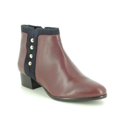 Lotus Ankle Boots - Tan Leather - ULB168/11 ROSA