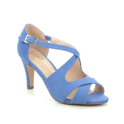 Lotus Heeled Sandals - Denim blue - ULS157/72 SADIE