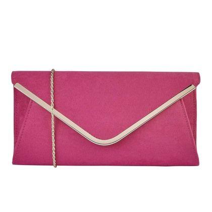 Lotus Occasion Handbags - Fuchsia - ULG011/62 SOMMERTON HOLLY