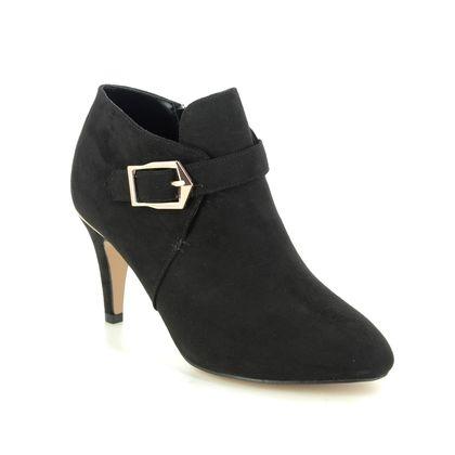 Lotus Heeled Boots - Black - ULS214/30 SUMMER