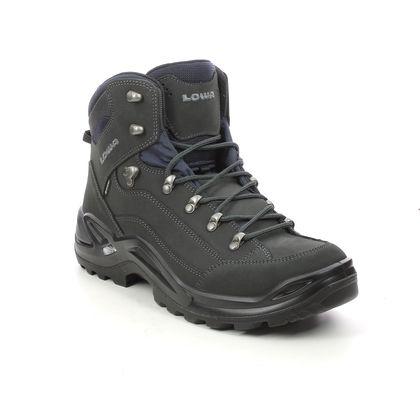 Lowa Outdoor Walking Boots - Dark grey nubuck - 310945-0954 RENEGADE GTX MID