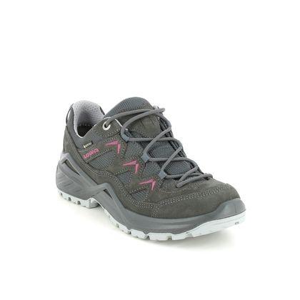 Lowa Walking Shoes - Black - 310805-0937 SIRKOS EVO GTX LO