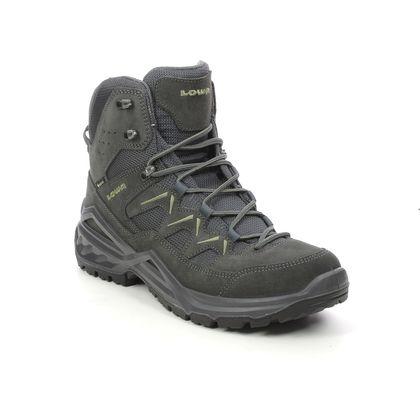 Lowa Outdoor Walking Boots - Grey suede - 310801-0937 SIRKOS GTX MID M