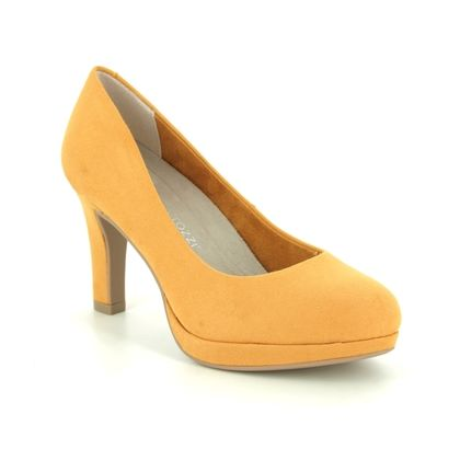 Marco Tozzi Heeled Shoes - Yellow - 22417/24/627 BADAMI 01
