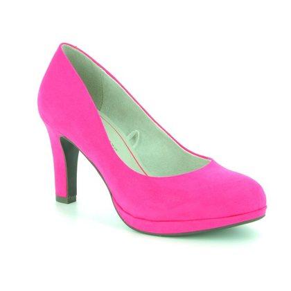 Marco Tozzi Heeled Shoes - Fuchsia - 22417/20/510 BADAMI
