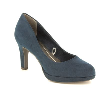 Marco Tozzi Heeled Shoes - Navy - 22417/22/805 BADAMI 91