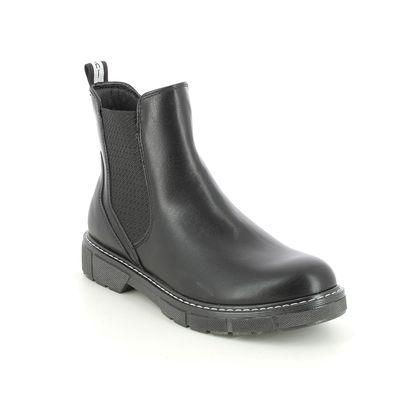 Marco Tozzi Chelsea Boots - Black - 25404/27/096 BADIE CHELSEA
