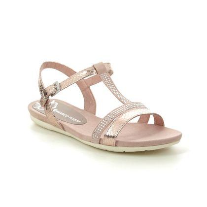 Marco Tozzi Flat Sandals - Rose pink - 28124/24/532 CALOSPARK 01