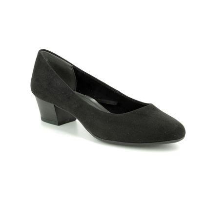 Marco Tozzi Court Shoes - Black - 22305/32/001 CARGO