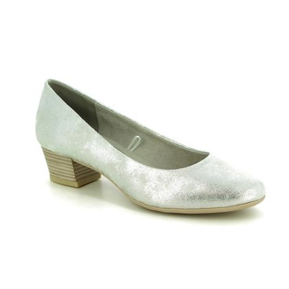 Marco Tozzi Court Shoes - Silver - 22305/32/237 CARGO