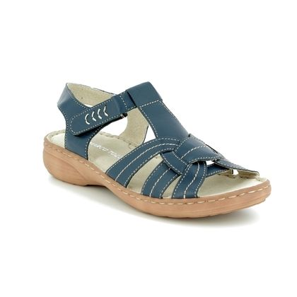 Marco Tozzi Comfortable Sandals - Navy - 28900/20/805 CEOTTER