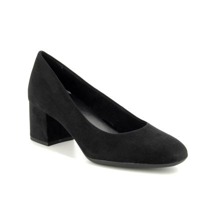 Marco Tozzi Court Shoes - Black - 22403/23/001 DAVI