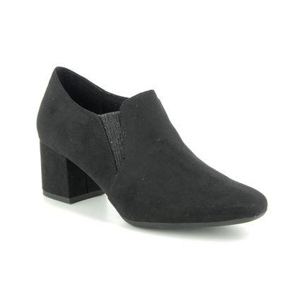 Marco Tozzi Court Shoes - Black - 24400/23/001 DAVILOW