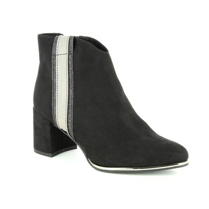 Marco Tozzi Fashion Ankle Boots - Black Suede - 25039/31/098 DELOS