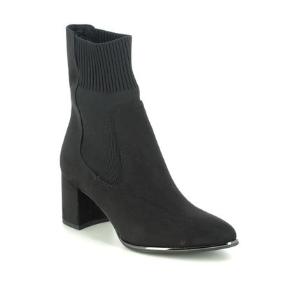 Marco Tozzi Heeled Boots - Black - 25352/25/001 DELOSOCK