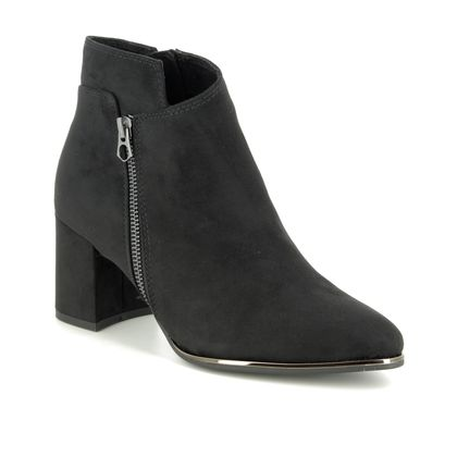 Marco Tozzi Boots - Ankle - Black - 25015/23/001 DELOZIP