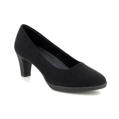 Marco Tozzi Court Shoes - Black - 22409/33/098 FALDO