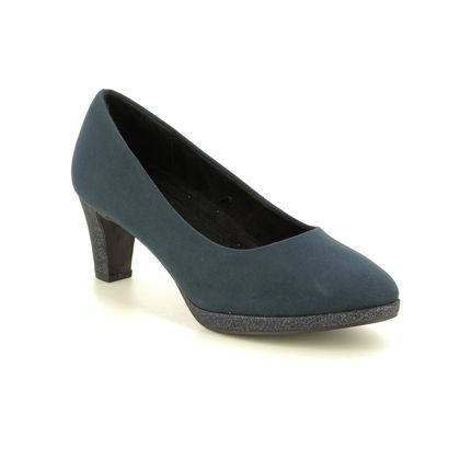Marco Tozzi Court Shoes - Navy - 22409/33/890 FALDO