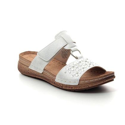 Marco Tozzi Slide Sandals - White - 27505/22/125 FRIDA  91