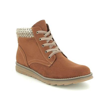 Marco Tozzi Ankle Boots - Tan - 25208/23/392 GRANA   95