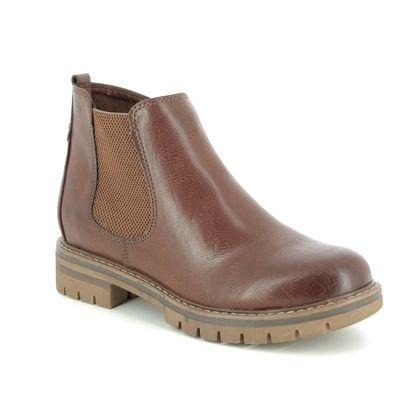 Marco Tozzi Chelsea Boots - Tan - 26425/23/302 GRANDE 95