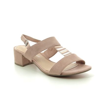 Marco Tozzi Heeled Sandals - Nude - 28202/24/478 HECHO 01