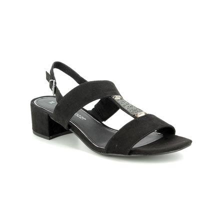 Marco Tozzi Heeled Sandals - Black - 28202/20/001 HECHO 91