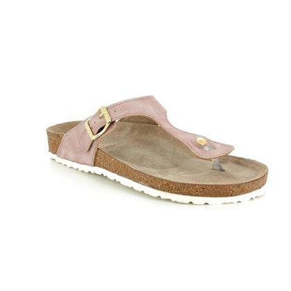 Marco Tozzi Toe Post Sandals - Rose pink - 27400/20/952 JANINE