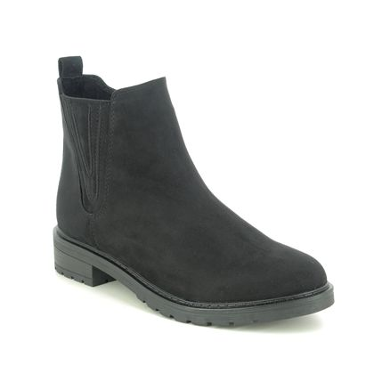 Marco Tozzi Chelsea Boots - Black - 25490/25/001 KATU   RAPA